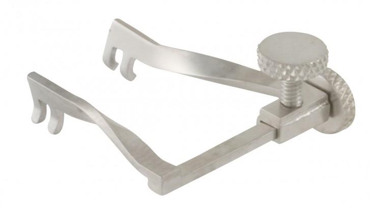 Wundspreizer, 2x2 Zähne stumpf